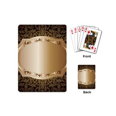 Floral 3 Playing Cards (mini)