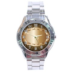 Floral 3 Stainless Steel Analogue Watch