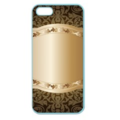 Floral 3 Apple Seamless Iphone 5 Case (color)