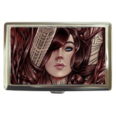Beautiful Women Fantasy Art Cigarette Money Cases