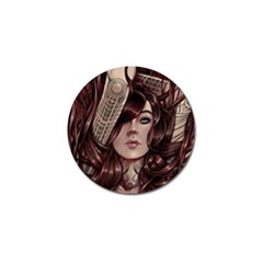Beautiful Women Fantasy Art Golf Ball Marker (10 Pack)