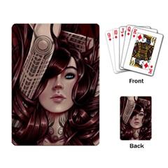 Beautiful Women Fantasy Art Playing Card