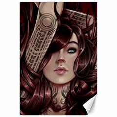Beautiful Women Fantasy Art Canvas 12  X 18