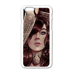 Beautiful Women Fantasy Art Apple Iphone 6/6s White Enamel Case