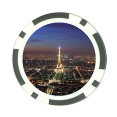Paris At Night Poker Chip Card Guard