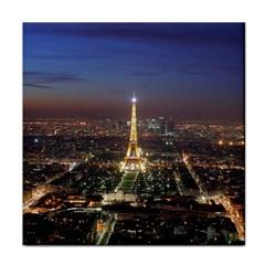Paris At Night Face Towel