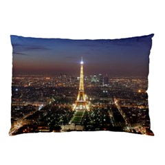 Paris At Night Pillow Case (two Sides)