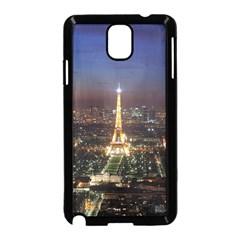 Paris At Night Samsung Galaxy Note 3 Neo Hardshell Case (black)