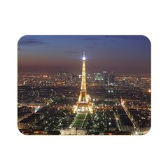 Paris At Night Double Sided Flano Blanket (mini)