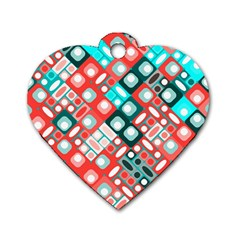 Pattern Factory 32d Dog Tag Heart (one Side)