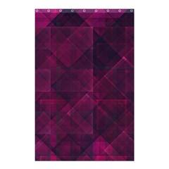 Pinkpunkplaid Shower Curtain 48  X 72  (small)