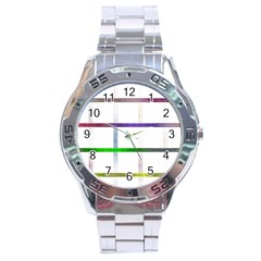 Blurred Lines Stainless Steel Analogue Watch