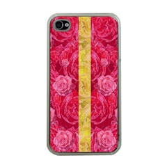 Rose And Roses And Another Rose Apple Iphone 4 Case (clear)