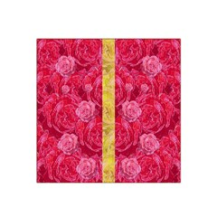 Rose And Roses And Another Rose Satin Bandana Scarf