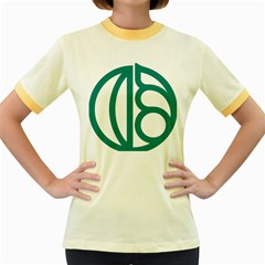 Seal Of Isfahan  Women s Fitted Ringer T Shirts
