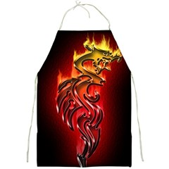 Dragon Fire Full Print Aprons