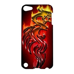 Dragon Fire Apple Ipod Touch 5 Hardshell Case