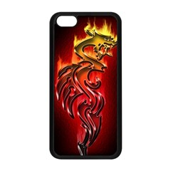 Dragon Fire Apple Iphone 5c Seamless Case (black)