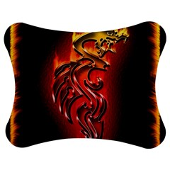 Dragon Fire Jigsaw Puzzle Photo Stand (bow)