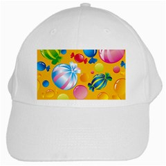 Sweets And Sugar Candies Vector  White Cap
