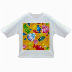 Sweets And Sugar Candies Vector  Infant/toddler T Shirts