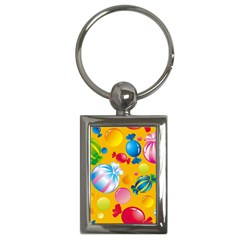 Sweets And Sugar Candies Vector  Key Chains (rectangle)