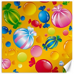 Sweets And Sugar Candies Vector  Canvas 16  X 16