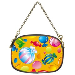 Sweets And Sugar Candies Vector  Chain Purses (two Sides)