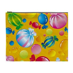 Sweets And Sugar Candies Vector  Cosmetic Bag (xl)