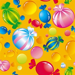 Sweets And Sugar Candies Vector  Magic Photo Cubes
