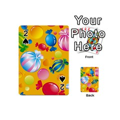 Sweets And Sugar Candies Vector  Playing Cards 54 (mini)