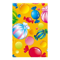 Sweets And Sugar Candies Vector  Shower Curtain 48  X 72  (small)