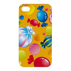 Sweets And Sugar Candies Vector  Apple Iphone 4/4s Hardshell Case