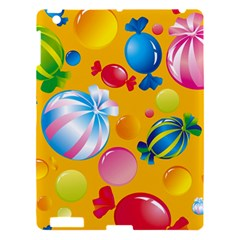 Sweets And Sugar Candies Vector  Apple Ipad 3/4 Hardshell Case