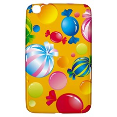 Sweets And Sugar Candies Vector  Samsung Galaxy Tab 3 (8 ) T3100 Hardshell Case