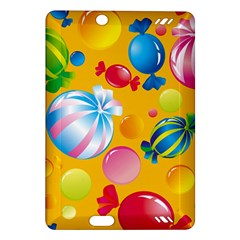 Sweets And Sugar Candies Vector  Amazon Kindle Fire Hd (2013) Hardshell Case