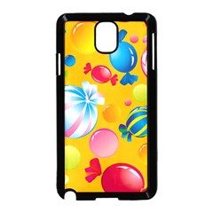 Sweets And Sugar Candies Vector  Samsung Galaxy Note 3 Neo Hardshell Case (black)