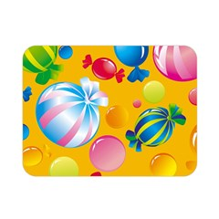 Sweets And Sugar Candies Vector  Double Sided Flano Blanket (mini)