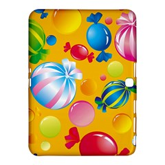 Sweets And Sugar Candies Vector  Samsung Galaxy Tab 4 (10 1 ) Hardshell Case