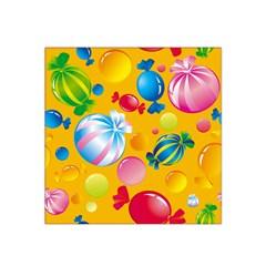 Sweets And Sugar Candies Vector  Satin Bandana Scarf