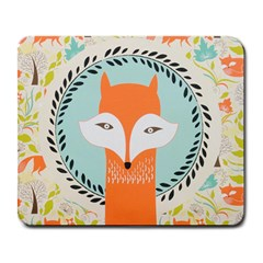 Foxy Fox Canvas Art Print Traditional Large Mousepads
