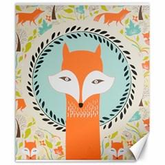 Foxy Fox Canvas Art Print Traditional Canvas 8  X 10