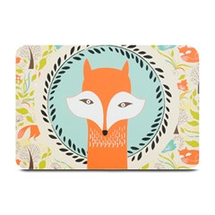 Foxy Fox Canvas Art Print Traditional Plate Mats