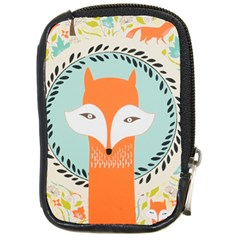 Foxy Fox Canvas Art Print Traditional Compact Camera Cases
