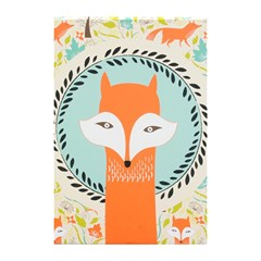Foxy Fox Canvas Art Print Traditional Shower Curtain 48  X 72  (small)