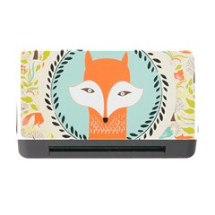 Foxy Fox Canvas Art Print Traditional Memory Card Reader With Cf