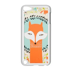 Foxy Fox Canvas Art Print Traditional Apple Ipod Touch 5 Case (white)