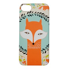 Foxy Fox Canvas Art Print Traditional Apple Iphone 5s/ Se Hardshell Case