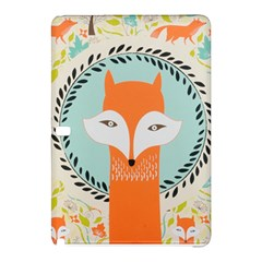 Foxy Fox Canvas Art Print Traditional Samsung Galaxy Tab Pro 12 2 Hardshell Case
