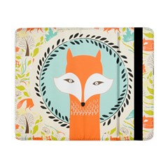 Foxy Fox Canvas Art Print Traditional Samsung Galaxy Tab Pro 8 4  Flip Case